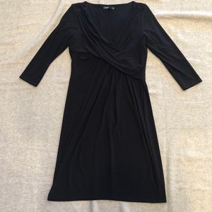 Ralph Lauren Twist Front Long Sleeve Dress
